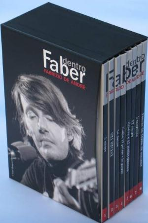 Fabrizio De Andre Dentro Faber (8dvd) CD album cover