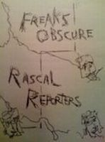 Rascal Reporters - Freaks Obscure CD (album) cover