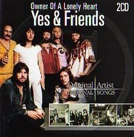 Yes - Yes & Friends CD (album) cover