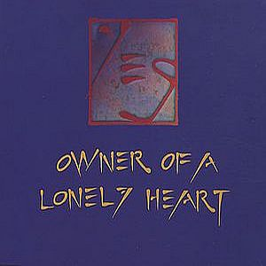 Yes - Owner Of A Lonely Heart CD (album) cover