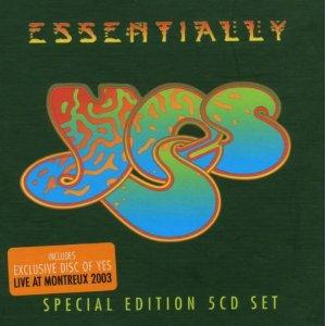 Yes - Essentially Yes CD (album) cover