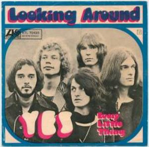 Yes - Looking Around CD (album) cover