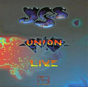 Yes - Union Live CD (album) cover