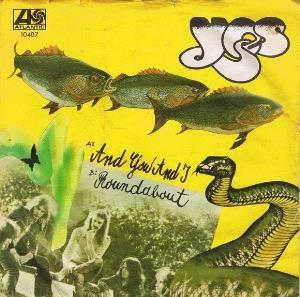 Yes - And You And I CD (album) cover