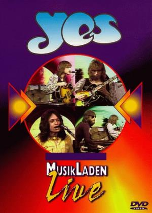 Yes - The Best Of Musikladen Live DVD (album) cover