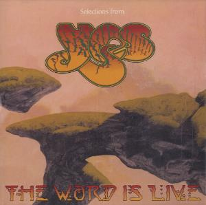 Yes - Selections From The Word Is Live CD (album) cover