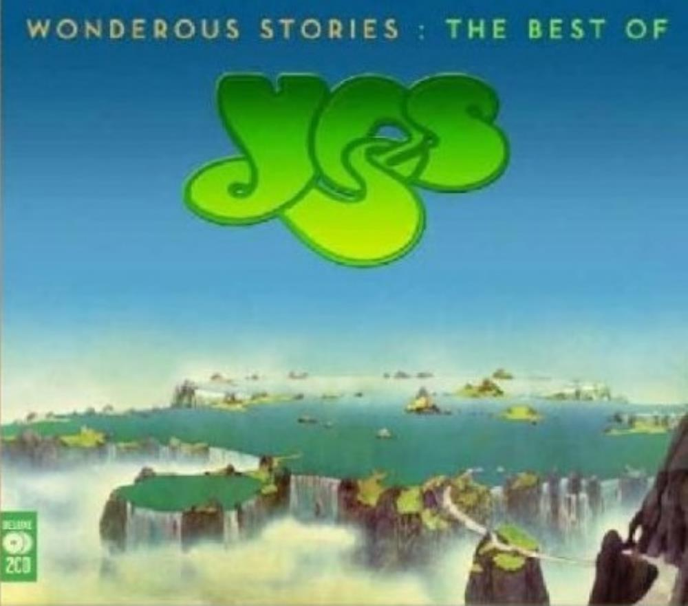 Yes - Wonderous Stories: The Best Of Yes CD (album) cover