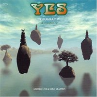 Yes - Topography : The Yes Anthology CD (album) cover