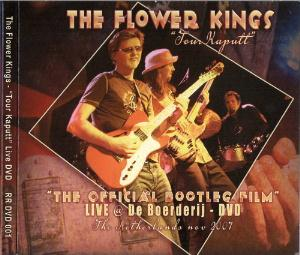 The Flower Kings - Tour Kaputt (2011) DVD (album) cover