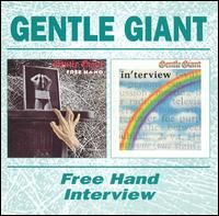 Gentle Giant - Free Hand/Interview CD (album) cover