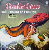 Gentle Giant - The Advent Of Panurge CD (album) cover