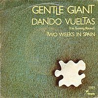 Gentle Giant - Dando Vueltas CD (album) cover