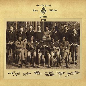 Gentle Giant - King Alfred's College Winchester CD (album) cover