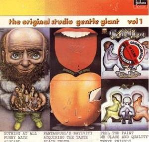 Gentle Giant - The Original Studio Gentle Giant - Vol. 1 CD (album) cover