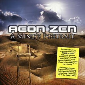 Aeon Zen - A Mind's Portrait CD (album) cover
