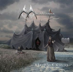 Manticora - The Black Circus Part 1 - Letters CD (album) cover