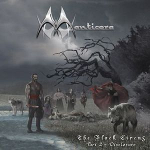 Manticora - The Black Circus Part 2 - Disclosure CD (album) cover