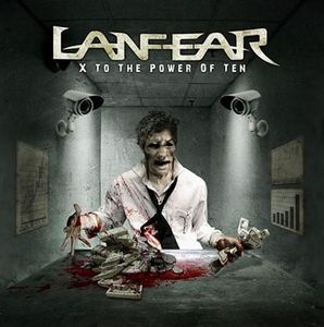 Lanfear - X To The Power Of Ten CD (album) cover