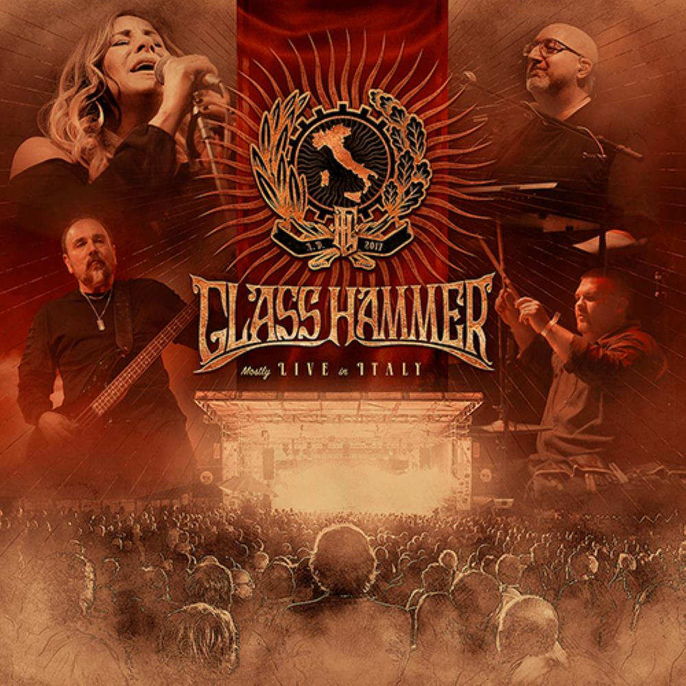 Glass Hammer - Mostly Live In Italy CD (album) cover