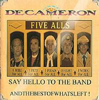 Decameron - Say Hello To The Band Andthebestofwhatsleft CD (album) cover