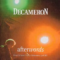Decameron - Afterwords CD (album) cover