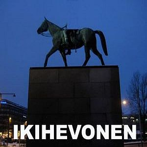 IKIHEVONEN - Ikihevonen CD album cover