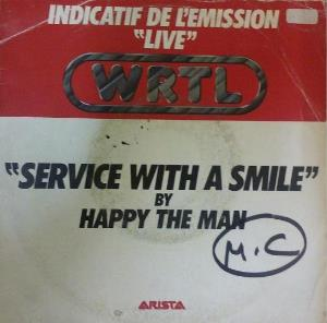 Happy The Man - Service With A Smile CD (album) cover