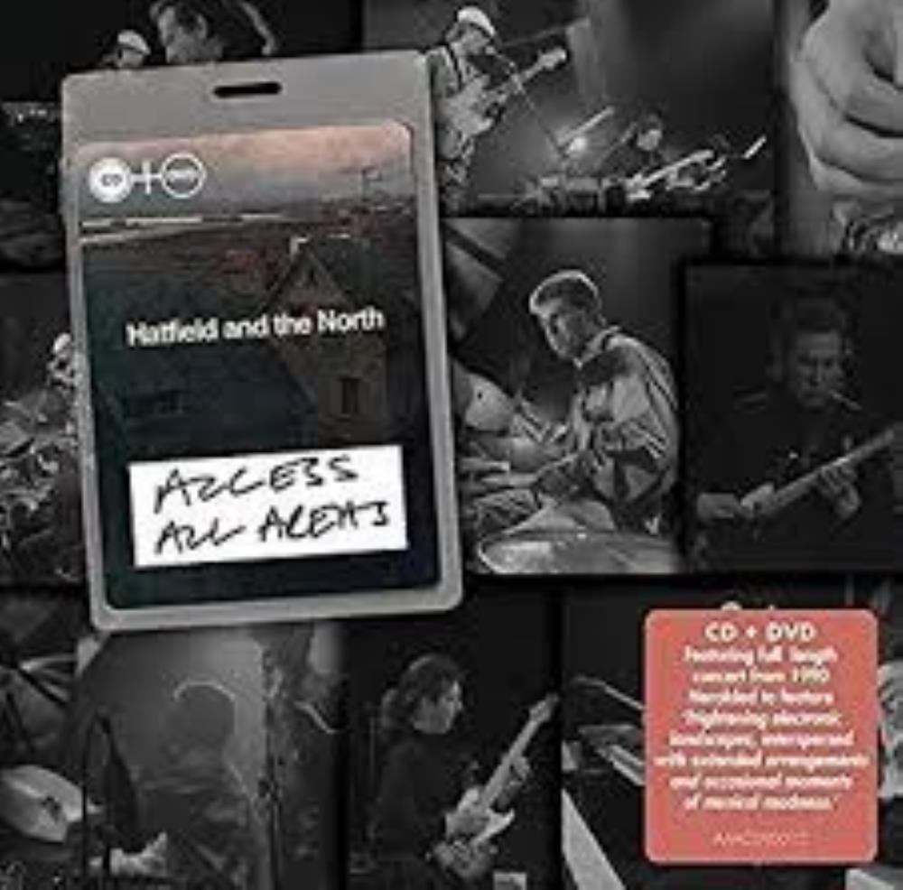 Hatfield And The North - Access All Areas CD (album) cover