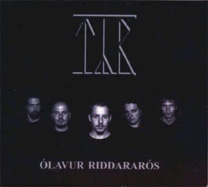 - Olavur Riddararos CD (album) cover