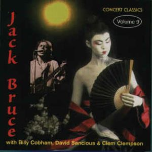 Jack Bruce - Shadows In The Air CD (album) cover