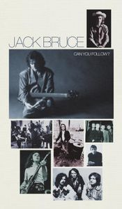 Jack Bruce - Can You Follow? CD (album) cover