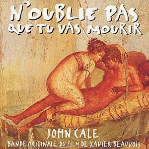 John Cale - N'oublie Pas Que Tu Vas Mourir (soundtrack) CD (album) cover