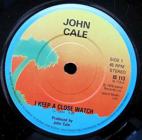 John Cale - I Keep A Close Watch CD (album) cover