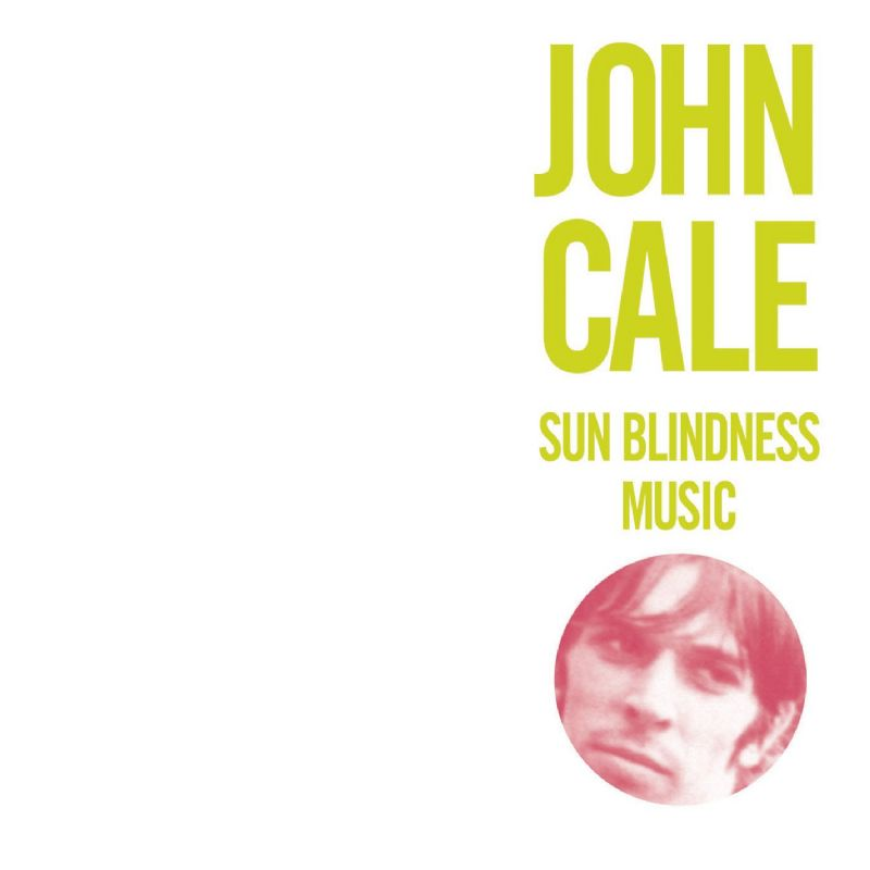 John Cale - Sun Blindness Music CD (album) cover