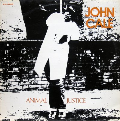 John Cale - Animal Justice CD (album) cover