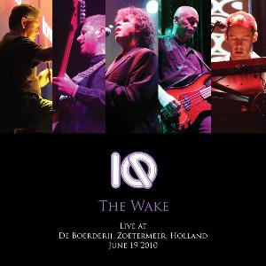 Iq - The Wake - Live At De Boerderij, Zoetermeer CD (album) cover