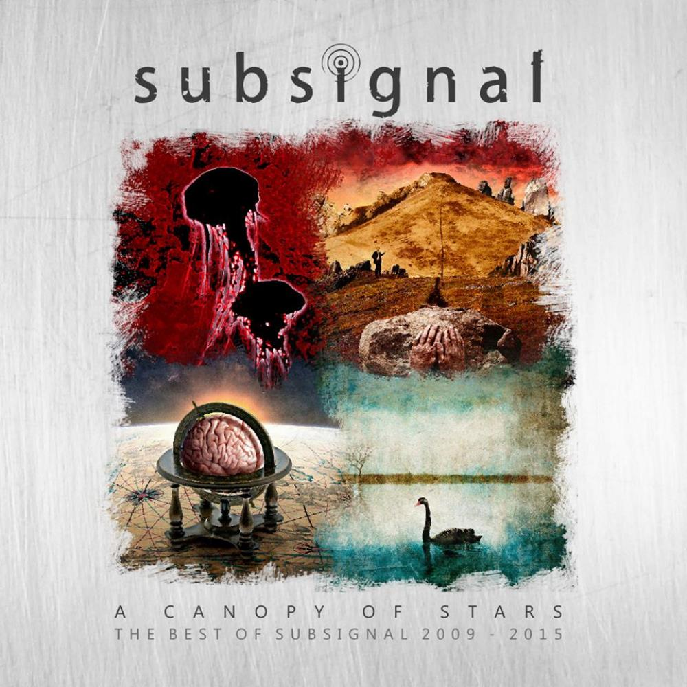 Subsignal - A Canopy Of Stars - The Best Of Subsignal 2009-2015 CD (album) cover
