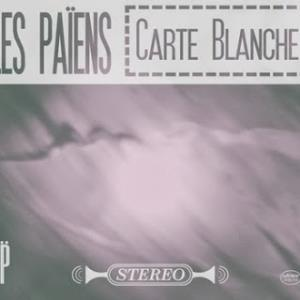 PAIENS - Carte Blanche CD album cover