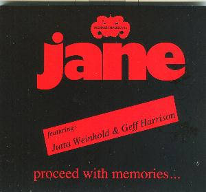 Jane - Proceed With Memories ... CD (album) cover
