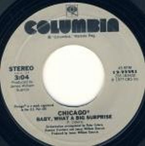 Chicago - Baby, What A Big Surprise / If You Leave Me Now CD (album) cover