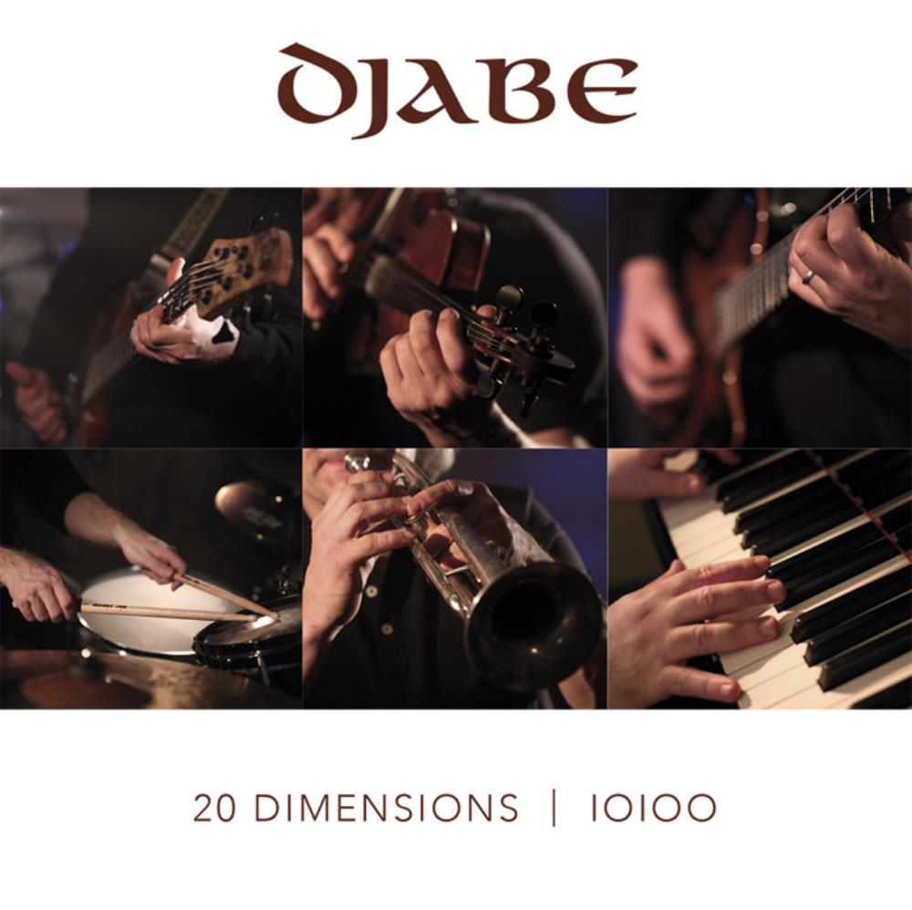 DJABE - 20 Dimensions CD album cover