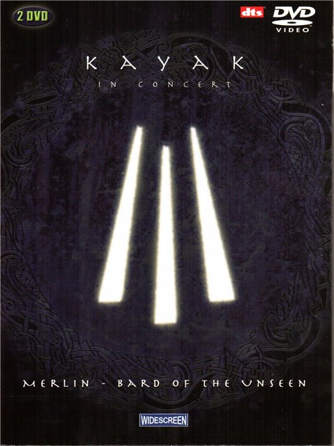 Kayak - In Concert - Merlin, Bard Of The Unseen DVD (album) cover