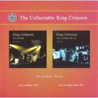 King Crimson - The Collectable King Crimson - Vol. 1. Live In Mainz, 1974 - Live In Asbury Park, 1974 CD (album) cover