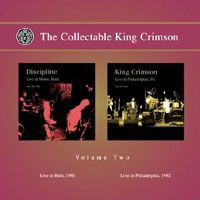 King Crimson - The Collectable King Crimson Vol.2 CD (album) cover