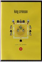 King Crimson - Live In Japan 1995 DVD (album) cover