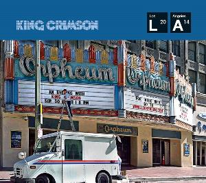 King Crimson - Live At The Orpheum CD (album) cover