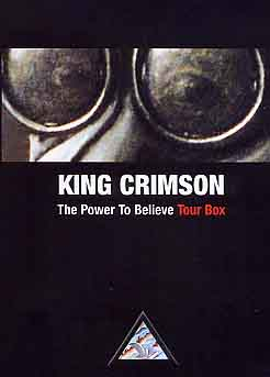 King Crimson - The Power To Believe Tour Box CD (album) cover