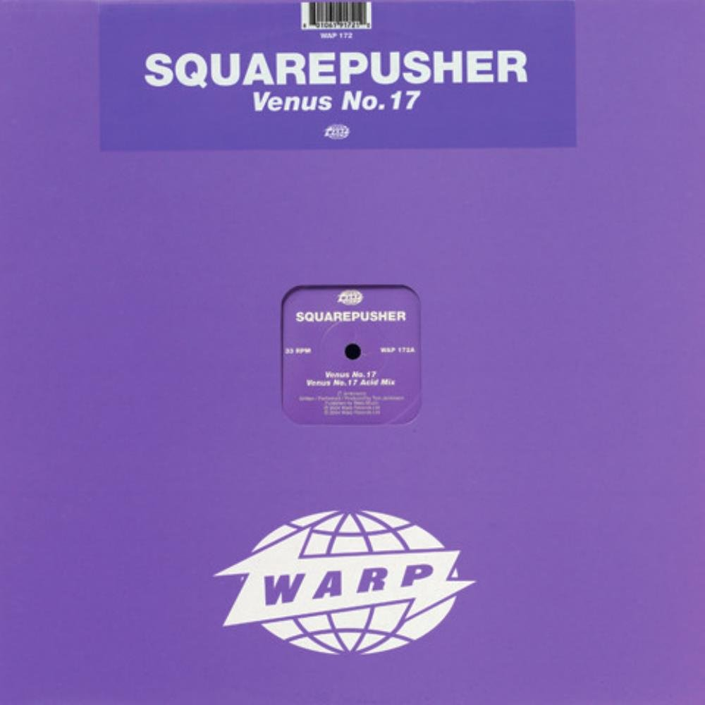 Squarepusher - Venus No. 17 CD (album) cover