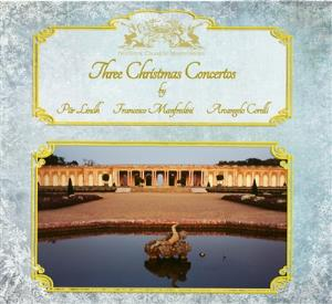 PÄr Lindh Project - Three Christmas Concertos CD (album) cover