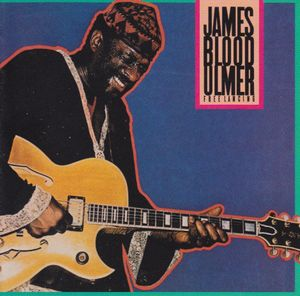 James Blood Ulmer - Free Lancing CD (album) cover